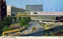 The Bull Ring Birmingham - Formato Piccolo Viaggiata Mancante Di Affrancatura – E 13 - Cartoline