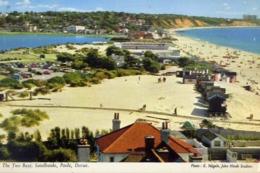 The Two Bays - Sandbanks - Poole Dorset - Formato Piccolo Non Viaggiata – E 13 - Cartoline