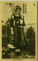 ALBANIA - COSTUME ALBANESE - EDIZIONE CASTRIOTA - 1939 (BG4095) - Albania