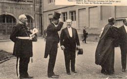 CP 54 Meurthe Et Moselle Nancy Visite Ministres Lorrains 28 Juillet 1912 Cour école Pharmacie - Nancy
