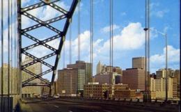 View Of Downtown Pittsburgh Pa - Formato Piccolo Non Viaggiata – E 13 - Cartoline