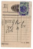 1930s YUGOSLAVIA, SLOVENIA, TRZIC, PEKO, SHOES, INVOICE WITH REVENUE STAMP - Invoices & Commercial Documents