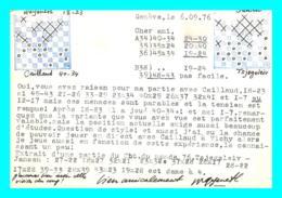 A747 / 253 Lettre Jeu De Dame Ou Echec - Vignette HELVETIA - Svizzera