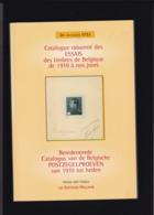 CATALOGUE DES ESSAIS DES TIMBRES DE BELGIQUE De 1910 à Nos Jours Par DR Jacques Stes 269 Pages Ed. 2001 - Philatelistische Wörterbücher