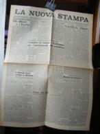 (G40) QUOTIDIANO INDIPENDENTE LA NUOVA STAMPA - 13 OTTOBRE 1945 - ANNO I N° 72 - Riviste & Giornali