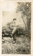 PHOTO ORIGINALE  SOLDAT  FORMAT 11 X 6.50 CM - Guerre, Militaire