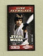 Magnets. Magnets Le Gaulois. Star Wars. Jango Fett (7/28) + Luke Skywalker (23/28) + Boba Fett (28/28) (lot De 3) - Characters