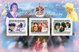 Guinea, 2011. [gu11627] Royal Wedding - Prince William & Katherine Middleton (s\s) - Familias Reales