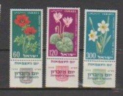 Israel  1959  N° 152 / 54  Neuf XX  Série Complete Avec Tab   Fleur - Israel