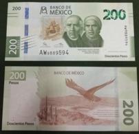 Mexico - 200 Pesos 2019 UNC Lemberg-Zp - Messico