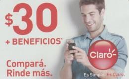 PREPAID PHONE CARD ARGENTINA-CLARO (PK124 - Argentinië