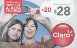 PREPAID PHONE CARD ARGENTINA-CLARO (PK126 - Argentinië