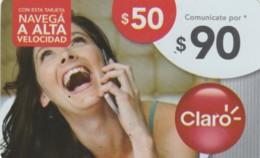 PREPAID PHONE CARD ARGENTINA-CLARO (PK128 - Argentinië