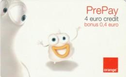 PREPAID PHONE CARD ROMANIA-ORANGE (PK222 - Rumania