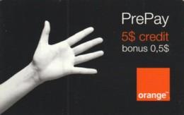 PREPAID PHONE CARD ROMANIA-ORANGE (PK223 - Romania