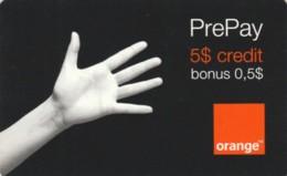 PREPAID PHONE CARD ROMANIA-ORANGE (PK224 - Romania