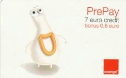 PREPAID PHONE CARD ROMANIA-ORANGE (PK230 - Romania