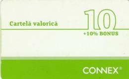 PREPAID PHONE CARD ROMANIA-CONNEX (PK232 - Romania