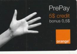 PREPAID PHONE CARD ROMANIA-ORANGE (PK235 - Romania