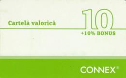PREPAID PHONE CARD ROMANIA-CONNEX (PK252 - Romania