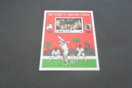 K23015 - Bloc MNh  ST.Vincent  Grenadines 1994 -  Cricket - 100 Years Of English Tours - Cricket