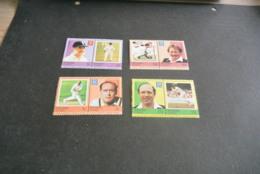 K23022 -set  MNh Nukulaelae Tuvalu - 1984  Cricket - Cricket