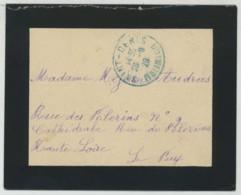 Enveloppe 1929 De Saint-Denis-de-la-Réunion Pour Le Puy-en-Velay . - Réunion (1852-1975)