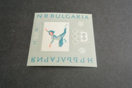 K23084 -Bloc MNH Bulgaria 1964 - Olympics Innsbruck - Winter 1964: Innsbruck