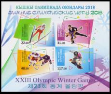 2018Kyrgyzstan 919-22/B90b2018 Olympic Games In Pyeongchang  (edition 300) - Winter 2018: Pyeongchang