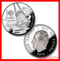 MONEDA ESPAÑA AÑO 2010. XACOBEO -10 EUROS. PLATA.PROOF - España