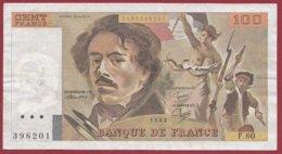 """100 Francs """"Delacroix"""" 1982 ---F/TTB+--ALPH.F.60 - 100 F 1978-1995 ''Delacroix''"""