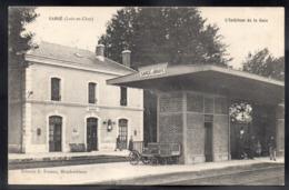 SARGE 41 - L'Intérieur De La Gare - Etat - A213 - France