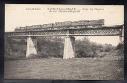 SAVIGNY SUR BRAYE 41 - Pont Du Chemin De Fer - Train - A214 - France