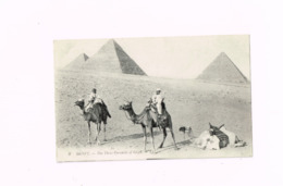 The Three Pyramids Of Gizeh. - Gizeh