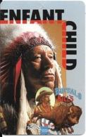 DISNEY-PASS SPECTACLE-BUFFALO BILLS-INDIEN-ENFANT-- TBE - Toegangsticket Disney