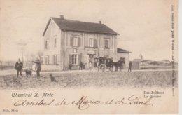 57 - CHEMINOT PRES METZ - LA DOUANE - NELS SANS NUMERO - CARTE RARE - Autres Communes