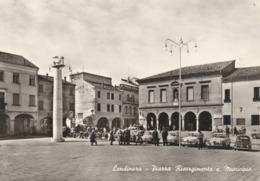 LENDINARA - PIAZZA RISORGIMENTO E MUNICIPIO - Rovigo