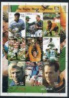 SOMALIE   Coupe Du Monde De Rugby 1999   N° Y&T  ??  (o) Avec Gomme - Somalia (1960-...)