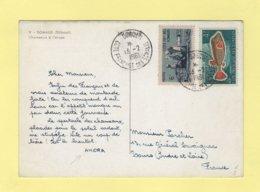 Carte Amora - Cotes Francaises De Somalis - 1961 - Côte Française Des Somalis (1894-1967)