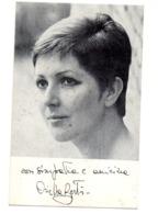 ORIETTA BERTI 1967 - Cartoncini Da Visita