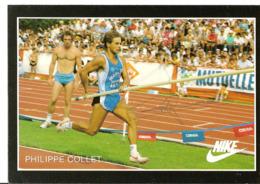 CPM - ATHLETISME - SAUT A LA PERCHE - PHOTO DEDICACEE DE PHILIPPE COLLET - Athletics