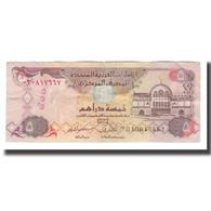 Billet, United Arab Emirates, 5 Dirhams, 1995/AH1416, KM:12b, TTB - United Arab Emirates