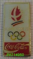 COCA JO ALBERTVILLE 92 1992 En Version EPOXY STARPINS - Coca-Cola