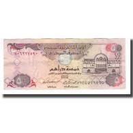 Billet, United Arab Emirates, 5 Dirhams, 2007/AH1428, KM:19d, SUP+ - Emirats Arabes Unis