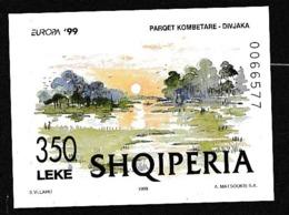 1999 Albania EUROPA CEPT EUROPE SHQIPERIA Foglietto MNH** Souv. Sheet - Europa-CEPT