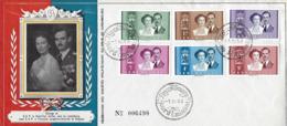 Luxembourg  -  FDC   1.4.1953   Mariage De S.A.R.le Gr.Duc Héritier Jean De Luxembourg Avec Princesse Joséphine - FDC
