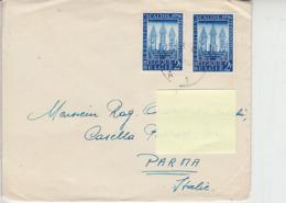 BELGIO  1956 - Unificato  990 - Scaldis - Lettera Per L'Italia - Belgio