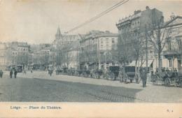 CPA - Belgique - Liège - Place Du Théâtre - Liege
