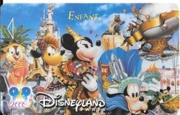 PASS-DISNEY-DISNEYLAND PARIS-2004-LA PARADE-NARBONI-00/09/IMA-VALIDE 1 JOUR-TBE - Toegangsticket Disney