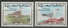 Maroc YT 1168-1169 XX / MNH Oiseau Bird Animal Wildlife - Marruecos (1956-...)
